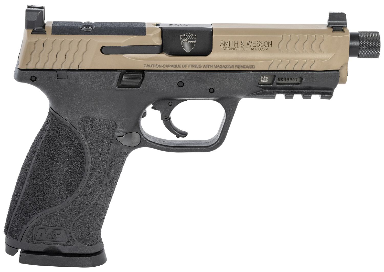 S&W M&P9 M2.0 9MM OR SPEC KIT 17-SHOT THREADED BBL TWO-TONE.