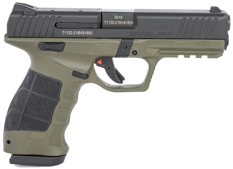 Sar USA SAR9ODBL SAR9  9mm Luger 4.40