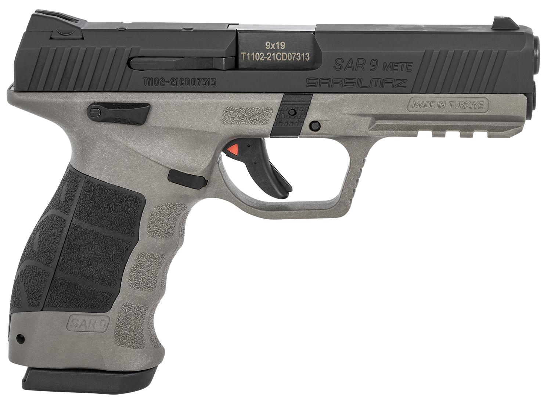 Sar USA SAR9METEPLBL SAR9 Mete Platinum 9mm Luger 4.44