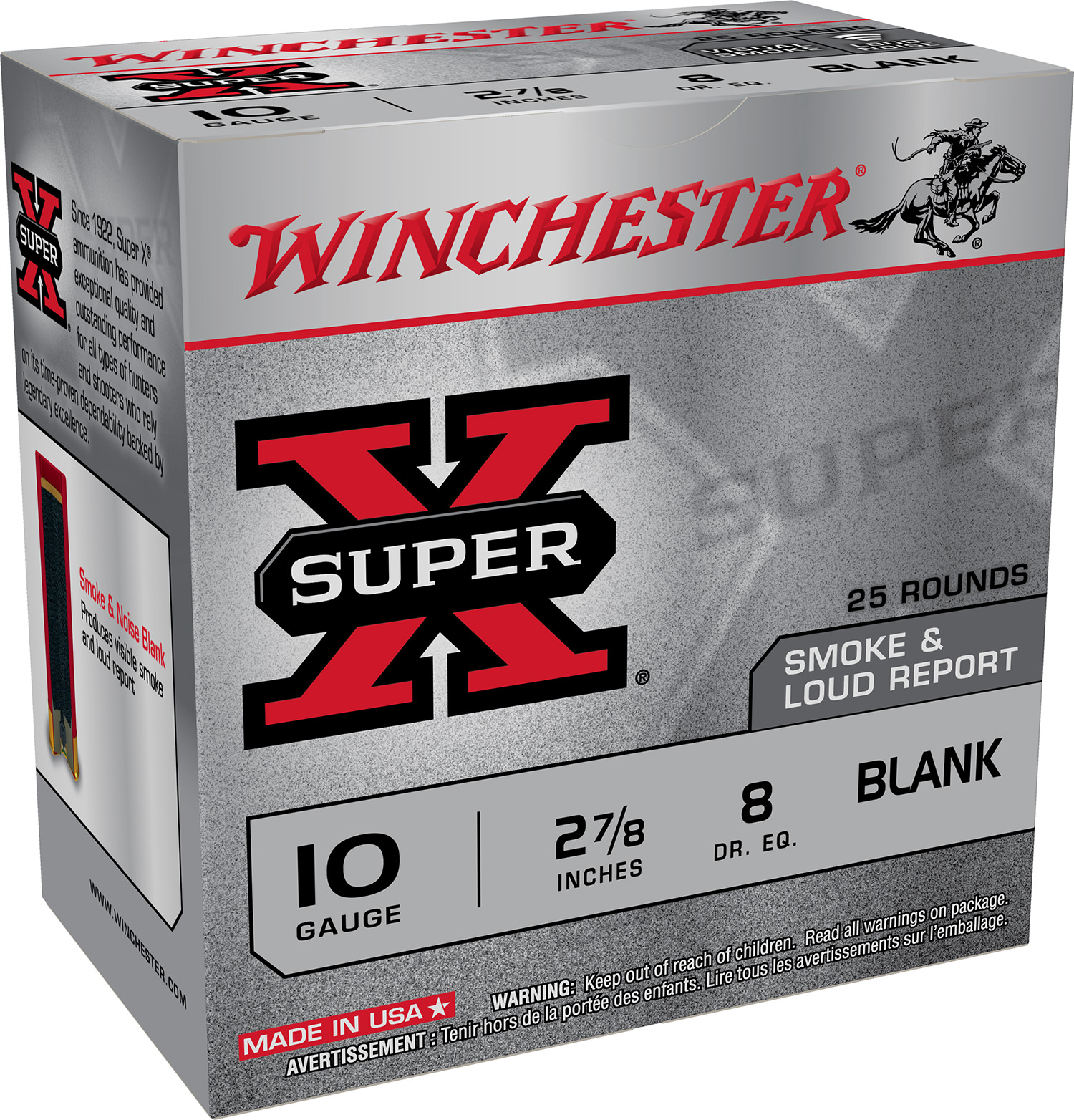 Winchester Ammo XBP10W Super X Black Powder Load 2.875