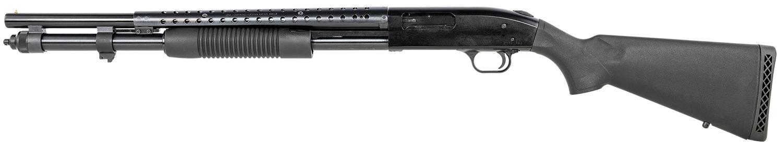 MOSS 59816 M590 LH 12GA 21CB BS 9-SHOT BAYO BLUE