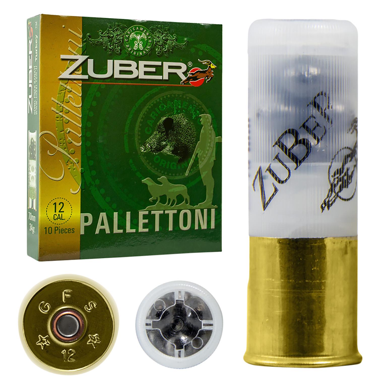 Zuber ZUB12GA00B9P Premium Buckshot 12 Gauge 2.75
