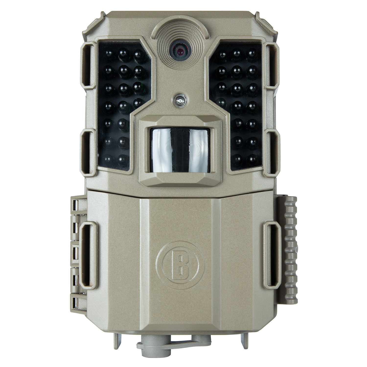 Bushnell 119930B Prime L20 Brown, Text LCD Display, 3/12/20MP Resolution, Red Glow Flash, SD Card Slot/Up to 32GB Memory