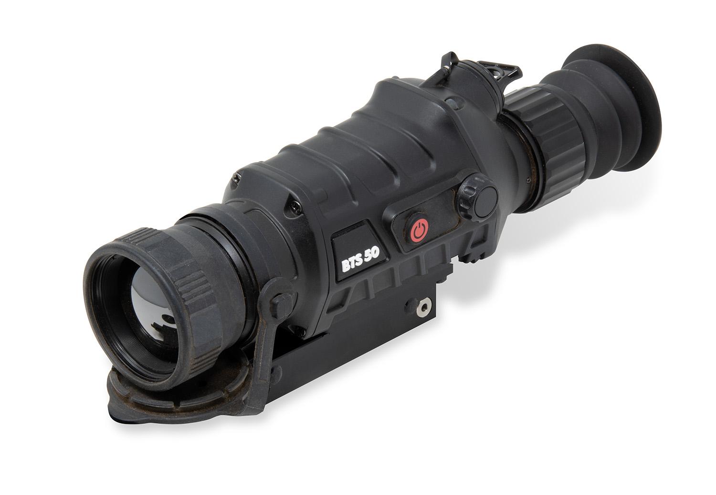 Burris 300600 BTS 50  Thermal Riflescope Matte Black 3.3-13.2x 50mm 10 Interchangeable 400x300, 50Hz Resolution Digital 2x/4x Zoom