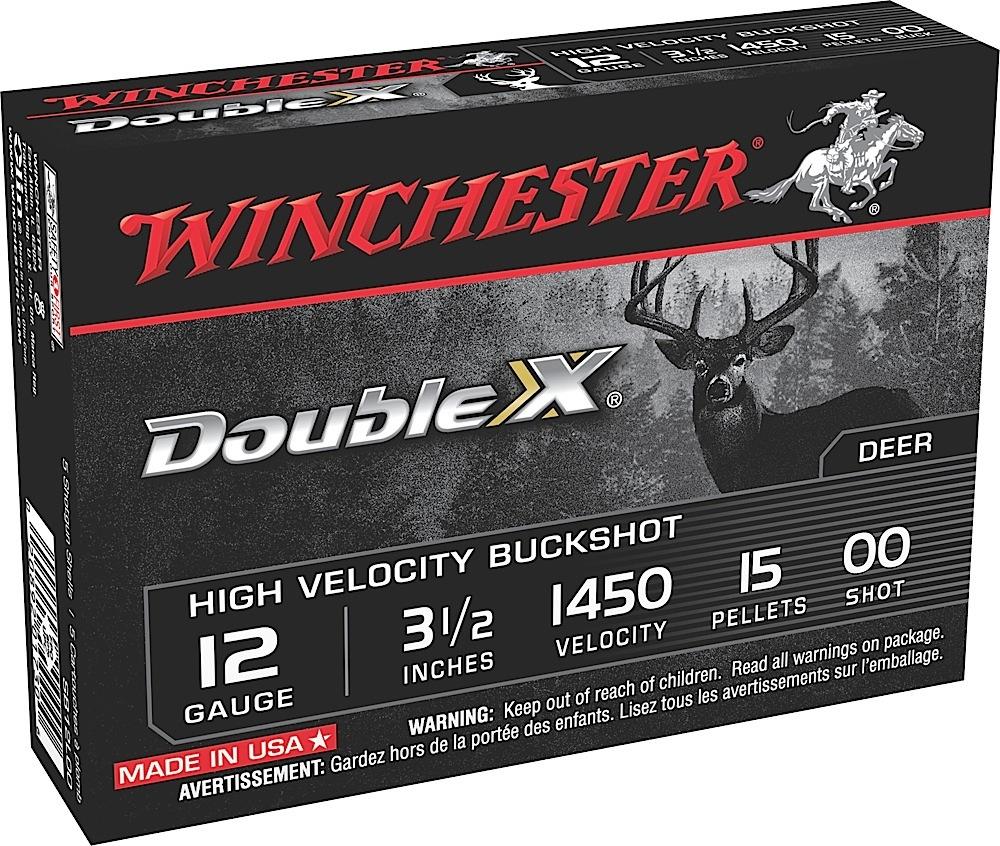 Winchester Ammo SB12L00 Double X High Velocity 12 Gauge 3.5