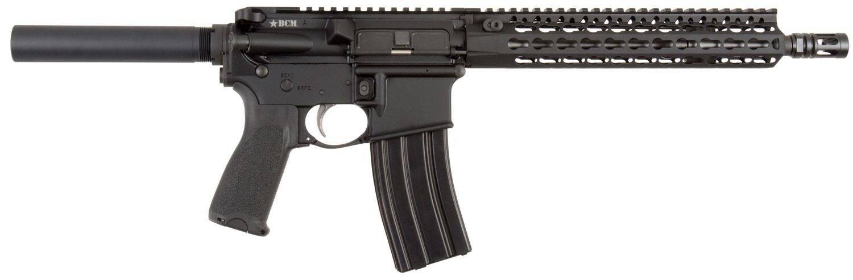 Bravo 610890ELW BCM RECCE-11 AR Pistol Semi-Automatic 223 Remington/5.56 NATO 11