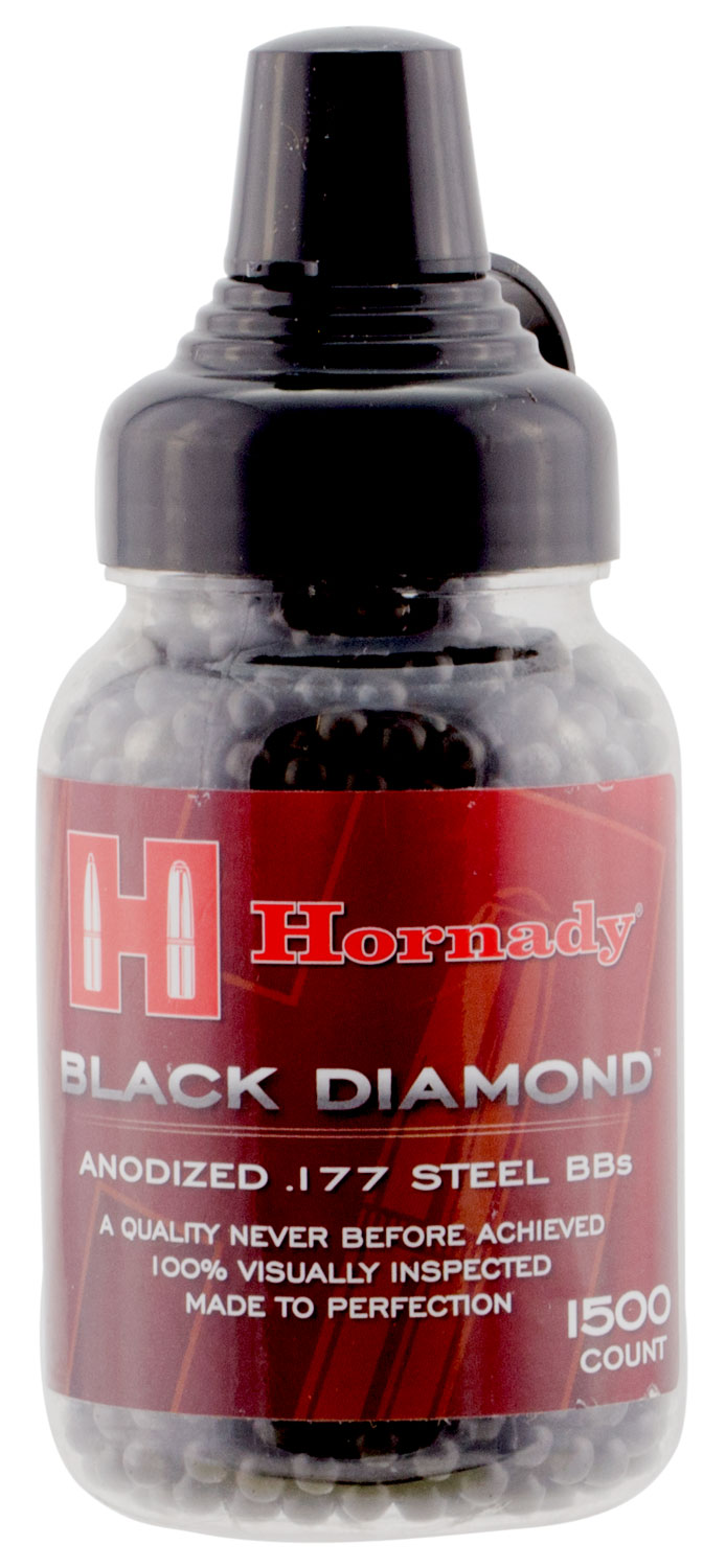 Umarex USA 2211056 Hornady Black Diamond .177 BB Steel 1500
