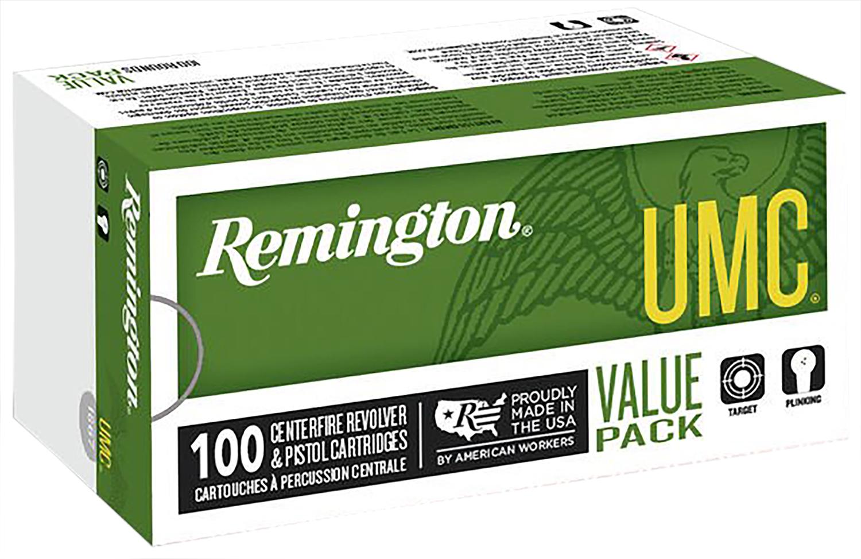 Remington Ammunition L40SW3B UMC 40 Smith & Wesson (S&W) 180 GR Metal Case (FMJ) 100 Bx/ 6 Cs
