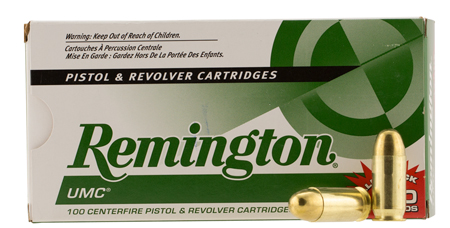 Remington Ammunition L45AP4B UMC 45 ACP Metal Case 230 GR 100Box/6Case