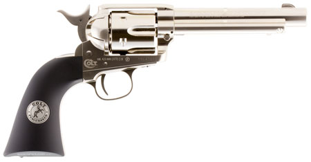 Umarex USA 2254051 Colt Peacemaker Air Pistol Revolver .177 Pellet Nickel