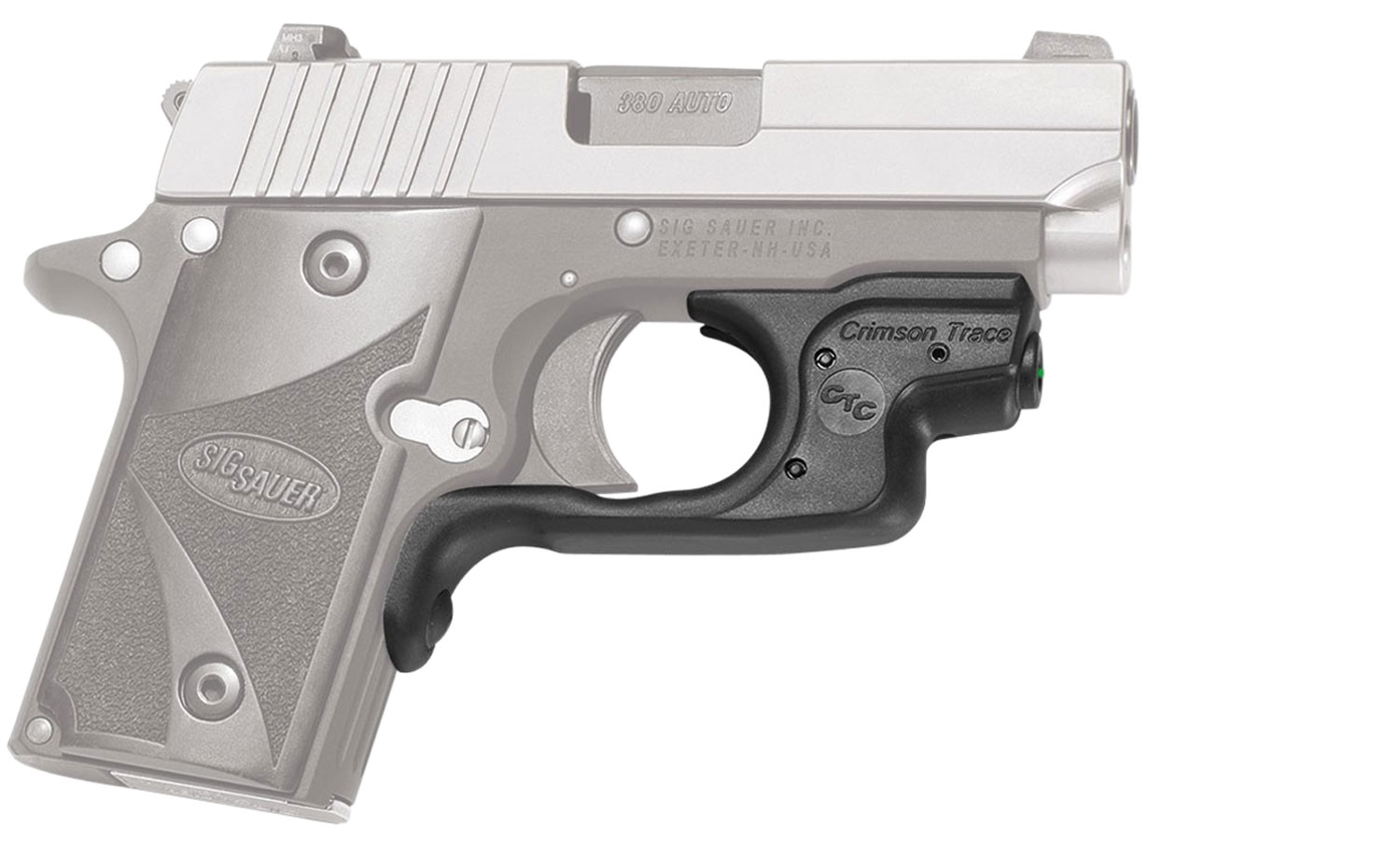 LASERGUARD SIG P238/P938 GREEN - POLYMER | FRONT ACTIVATION