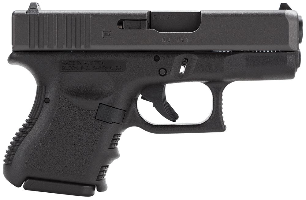 Glock PI3950201 G39 Gen3 Subcompact 45 GAP 3.42