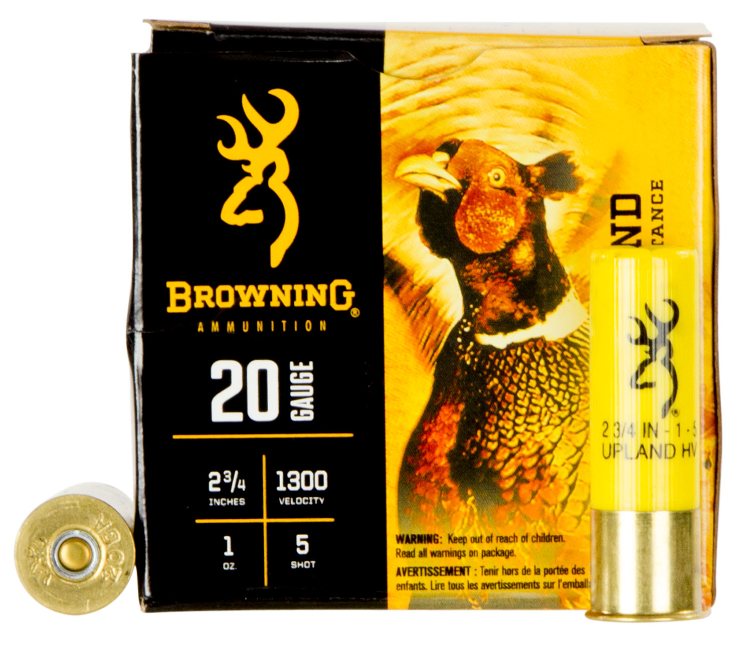 Browning Ammo B193512025 BXD Extra Distance Upland 20 Ga 2.75