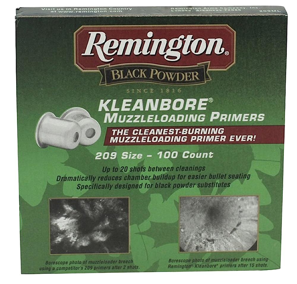 Remington Kleanbore Muzzleloading Primers  <br>  209 Primer 100 pk. HAZMAT