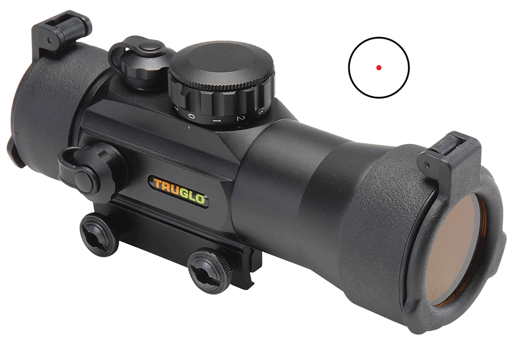 TruGlo Traditional Red Dot Sight  <br>  Black 42 mm. X2