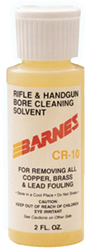 Barnes CR-10 Bore Cleaner  <br>  2 oz. Bottle