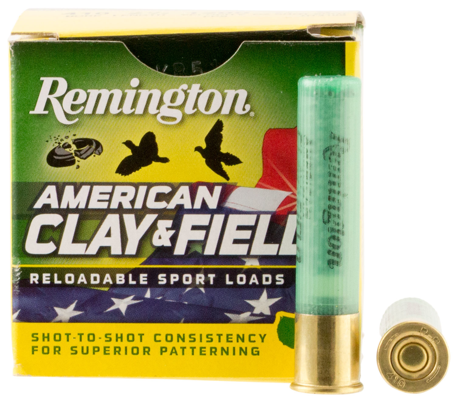 Remington Ammunition HT4109 American Clay and Field Sport Loads 410 Gauge 2.5