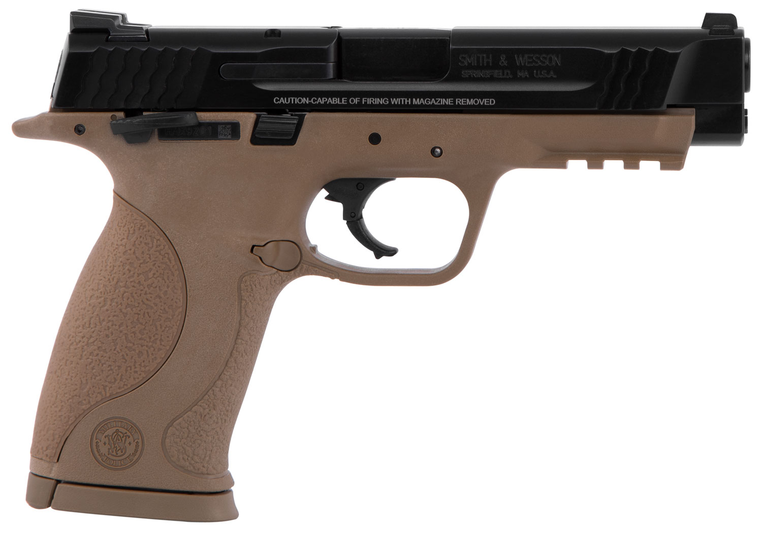 Smith & Wesson LE 309556 M&P 45  45 Automatic Colt Pistol (ACP) Double 4.5