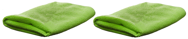 Breakthrough Green Microfiber Towel  <br>  2 pack