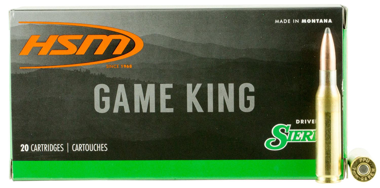 HSM 7MM087N Game King 7mm-08 Remington 140 GR SBT 20 Bx/ 25 Cs