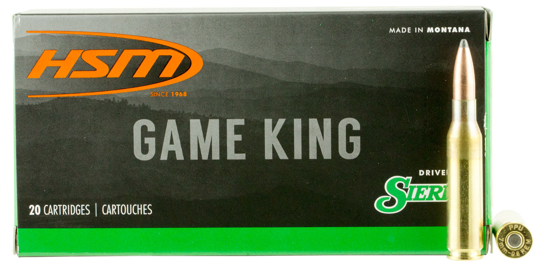 HSM 7MM088N Game King 7mm-08 Remington 150 GR SBT 20 Bx/ 25 Cs