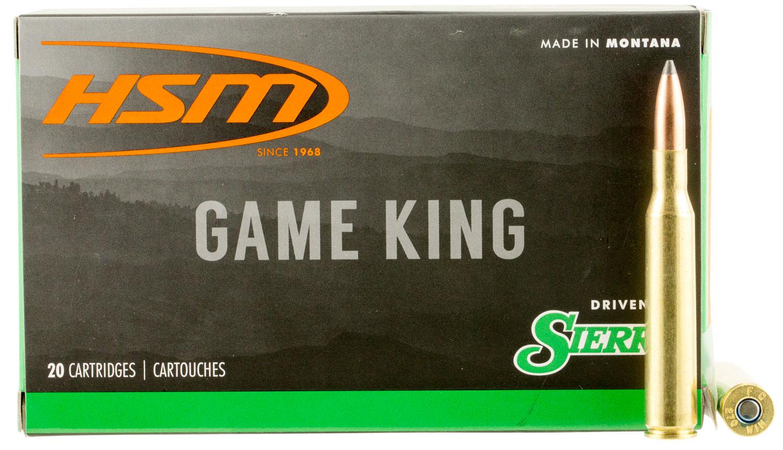 HSM 27013N Game King 270 Winchester 150 GR SBT 20 Bx/ 20 Cs