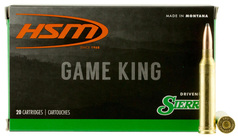HSM 7STW8N Game King 7mm Shooting Times Westerner 160 GR SBT 20 Bx/ 20 Cs
