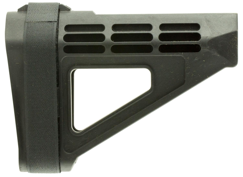 SB Tactical SBM4-01-SB AR Brace SBM4 Elasto-Polymer Black 7.2