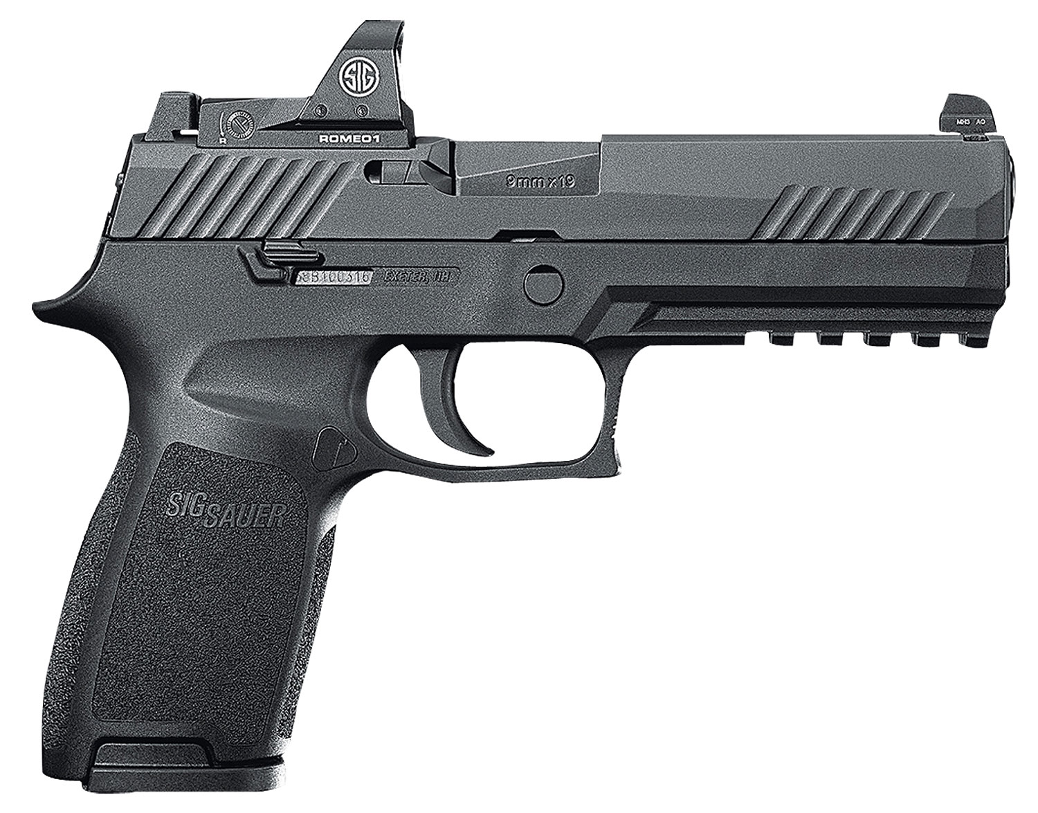 Sig Sauer 320F9BSSRX10 P320 Full Size RX Double 9mm Luger 4.7