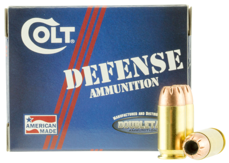 Colt Ammo 45A230CT Defense 45 ACP 230 GR JHP 20 Bx/ 50 Cs