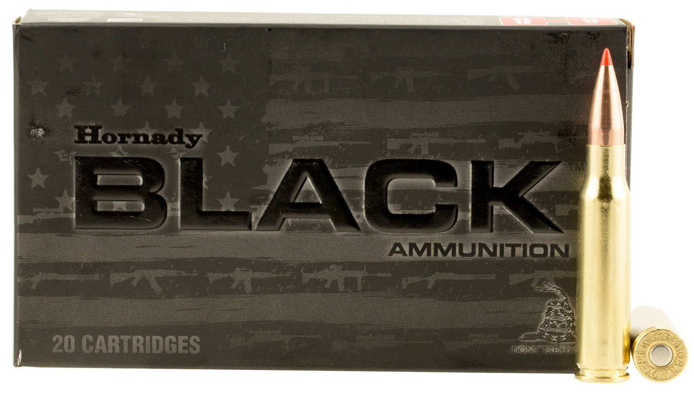 HRNDY BLACK 308WIN 168GR AMAX 20/200