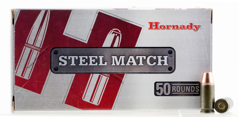 HRNDY STL MTCH 9MM 125GR HAP 50/500