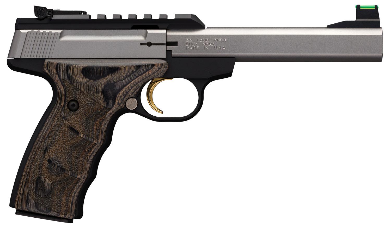 Browning 051531490 Buck Mark Plus  22 Long Rifle (LR) Single 5.5