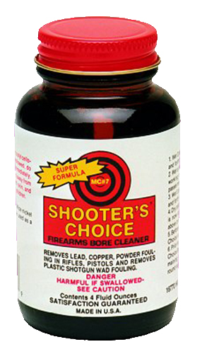 SHOOTERS CHOICE BORE CLEANER & CONDITIONER 4OZ. BOTTLE