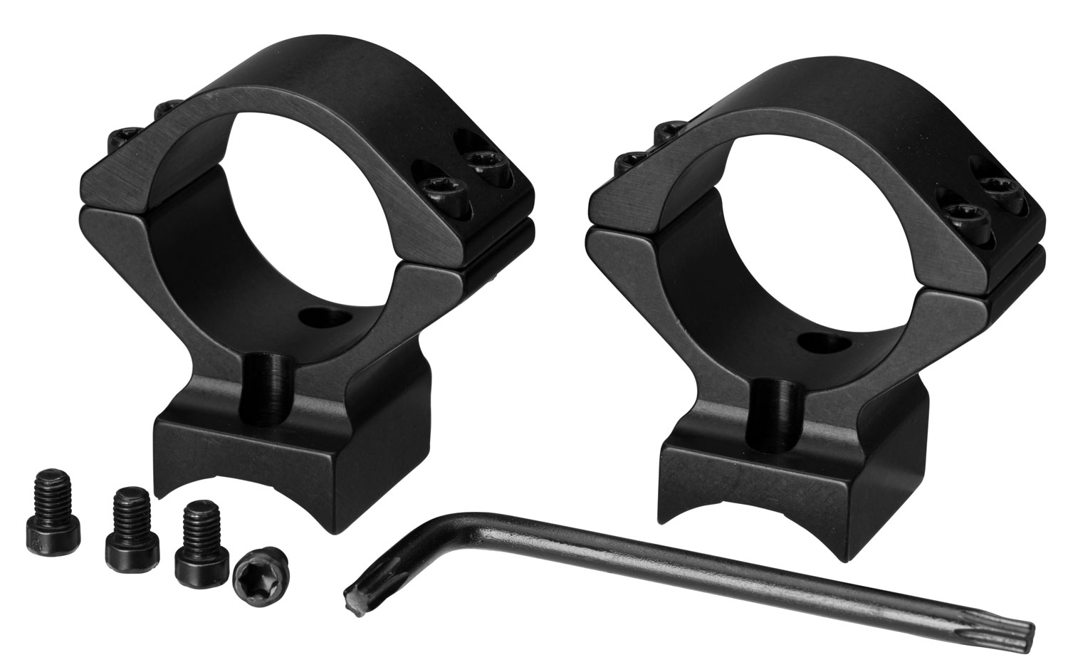Browning 12338 2-Piece Base/Rings For Browning T-Bolt Integral Mounting System Style Black Matte Finish Low