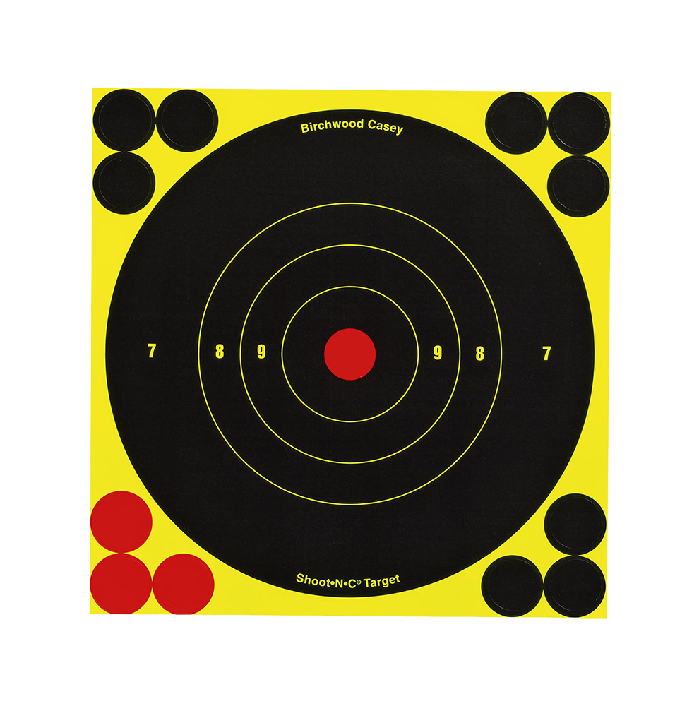 Birchwood Casey Shoot-N-C 6 inch Round Target 60 Sheet Pack
