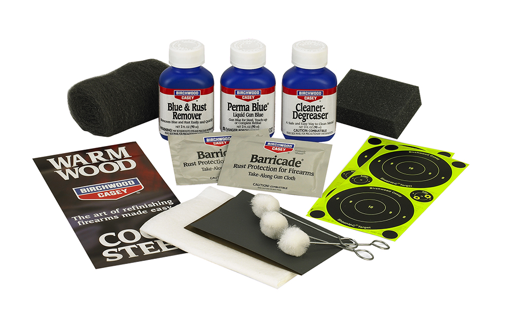 Birchwood Casey Perma Blue Gun Finishing Kit  <br>  Liquid