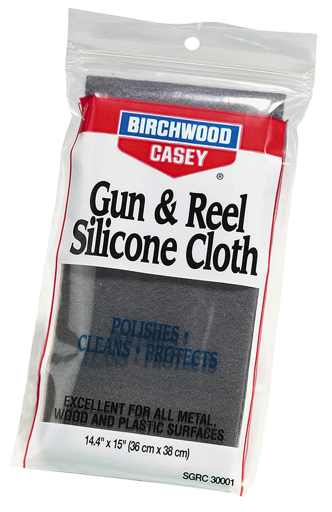 Birchwood Casey 30001 Gun & Reel Silicone Cloth Cleaning Cloth 14.4