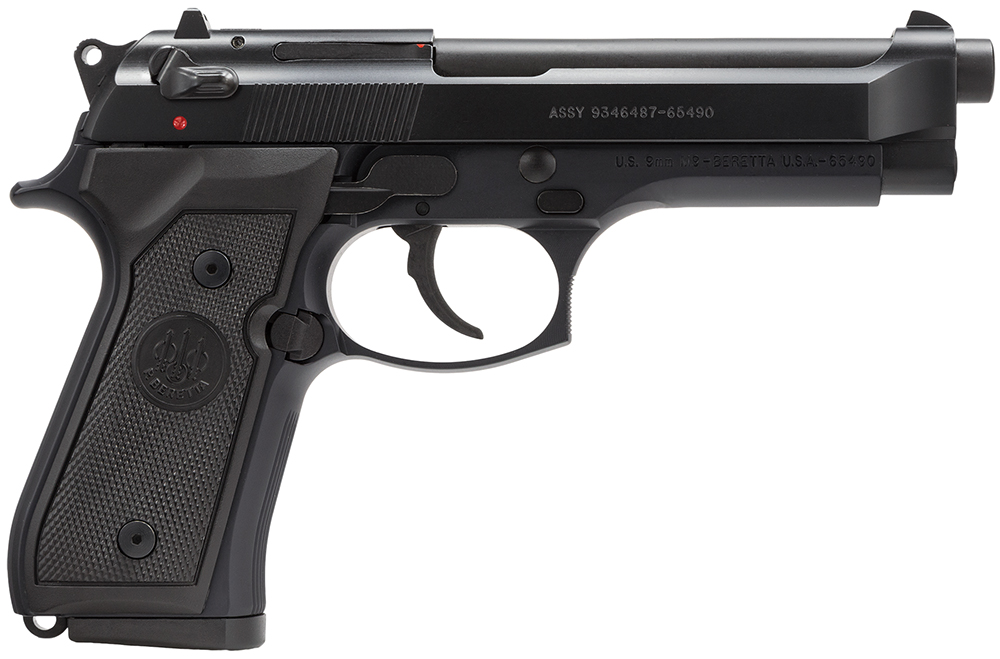 Beretta USA J92M9A0 M9 Commercial Single/Double 9mm Luger 4.9