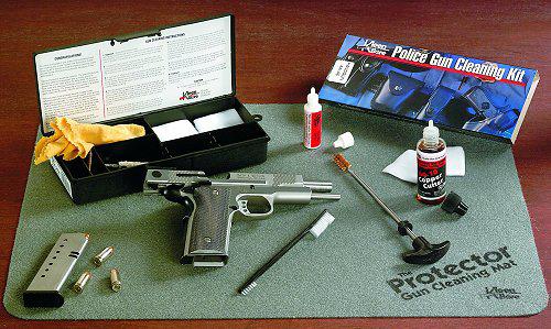 Kleen-Bore PS50 Tactical/Police Handgun Cleaning Kit 9mm/38/357 Handgun Bronze, Nylon
