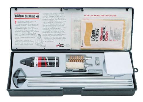 Kleen-Bore SHO216 Shotgun Classic Kit  12 Gauge Shotgun Bronze, Nylon