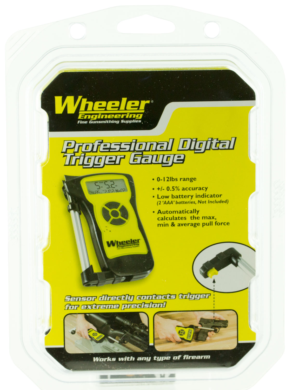 Wheeler 710904 Professional Digital Trigger Gauge Professional Digital Trigger Gauge