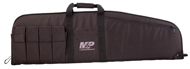 M&P Accessories 110015 Duty Series Medium Rifle/Shotgun Case Nylon Smooth
