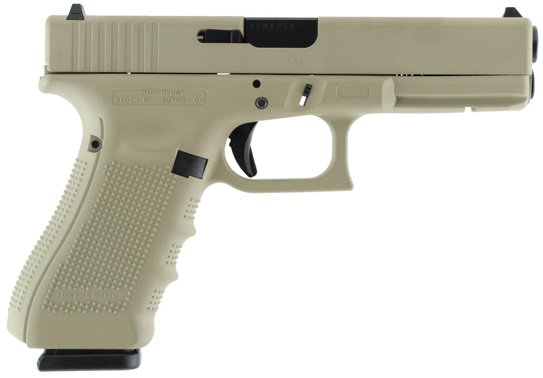 Glock UG1750204 G17 Gen 4 Double 9mm Luger 4.48