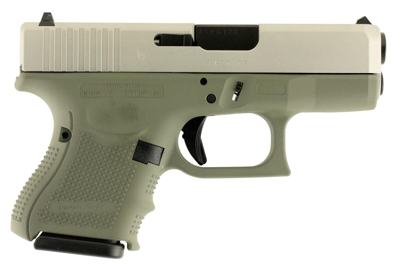 Glock UG2650204 G26 Double 9mm Luger 3.5