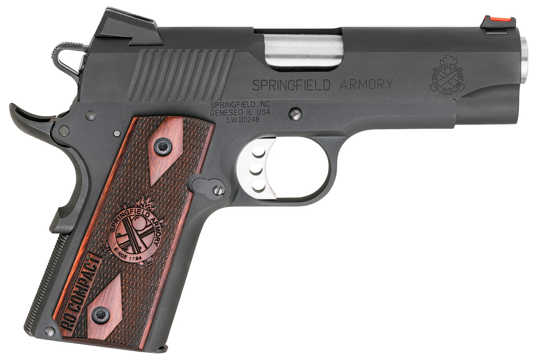Springfield Armory PI9126L 1911 Range Officer Compact  45 Automatic Colt Pistol (ACP) Single 4