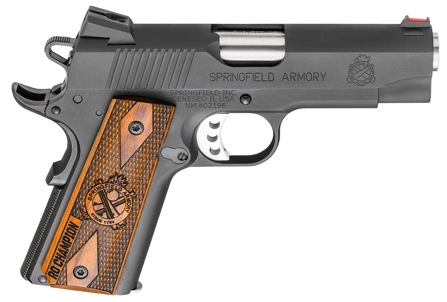 Springfield Armory PI9137L 1911 Range Officer Champion  9mm Luger Single 4
