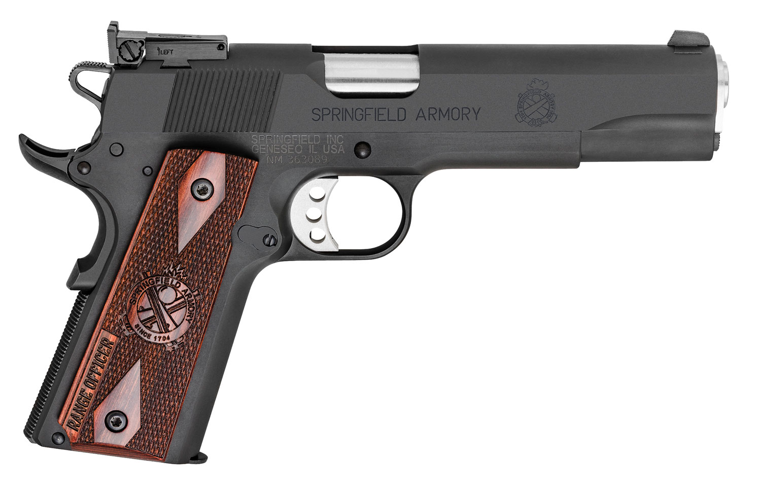 Springfield Armory PI9129L 1911 Range Officer  9mm Luger Single 5