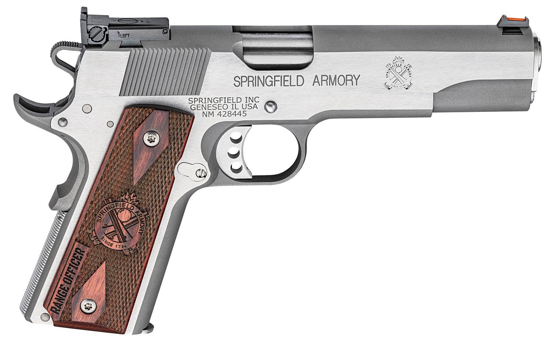 Springfield Armory PI9124L 1911 Range Officer  45 Automatic Colt Pistol (ACP) Single 5