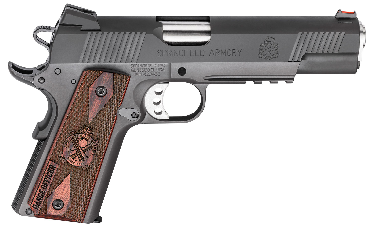 Springfield Armory PI9130L 1911 Range Officer Operator  9mm Luger Single 5